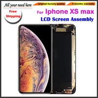 6.5'inch LCD Display Touch Screen For iphone XS max Digitizer Assembly Replacement phone screen black+tools