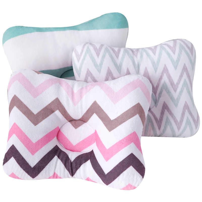 Muslinlife cabeza de protección bebé almohada de dibujos animados cama almohada para dormir Bebé almohada niños cuadrado algodón almohada decoración de la habitación Dropship