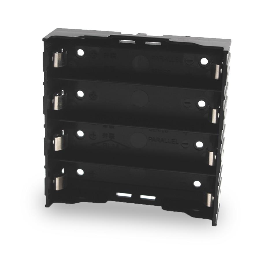 100PCS Lot 18650 Battery Holder 18650 Battery Box Holder Batteries Case For 4 3 7V 18650