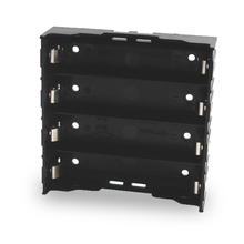 100 pçs/lote 18650 bateria titular 18650 bateria caixa titular baterias caso para 4*3.7 v 18650 bateria de lítio para solda conectar