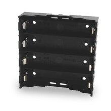 100 stks/partij 18650 Batterij Houder 18650 Batterij Box Houder Batterijen Case Voor 4*3.7 V 18650 Lithium Batterij Voor solderen Verbinden