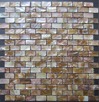 11pcs Shell mosaics tiles natural freshwater shell tiles;mother of pearl tiles,cheap floor kitchen backsplash tiles
