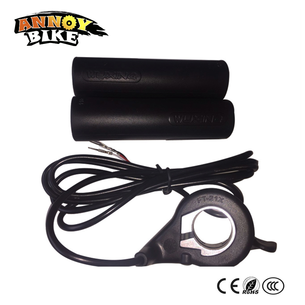 Handle Grip Wuxing Right Hand Throttle 12v 24v 36v 48v Black Electric Scooter Wiring Diagram Motorcycle Bike Thumb