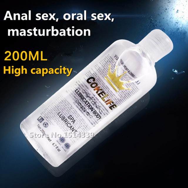 Lube for anal masturbation