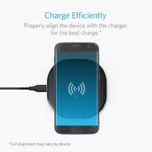 Image 5 - ANKER Sạc Không Dây Sạc Miếng Lót Cho iPhone Nexus Và Các Thiết Bị Khác, cung Cấp Nhanh Chóng Sạc Cho Galaxy Và Note 5 V... V...