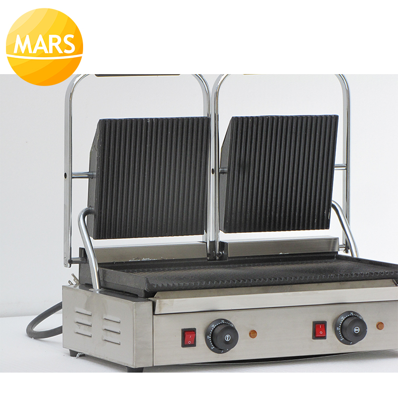 10c213648e5 MARS 2 Plates Panini Sandwich Maker Electric Panini Griddle  Panini Grill  Press  Panini Baking Plates Toaster Machine-in Waffle Makers from Home  Appliances ...