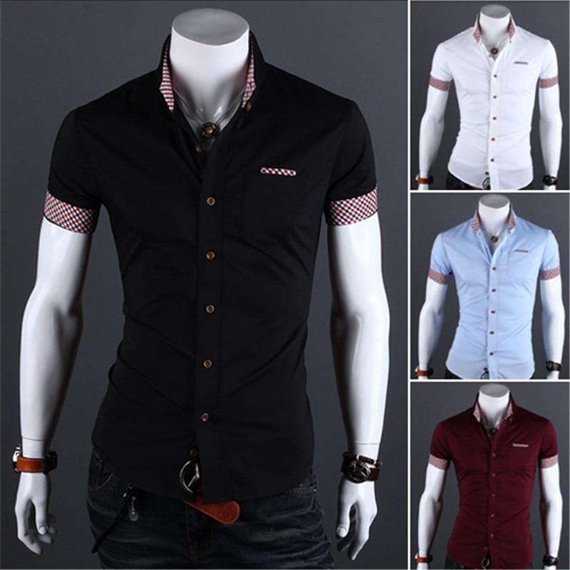 Online Get Cheap Black Short Sleeve Dress Shirts -Aliexpress.com ...