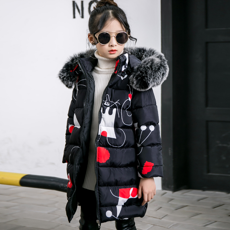 Kids Winter Coat 2018 New Cotton Jackets For Girls Fur Collar Coats Children Hooded Warm Thick Parka Overcoat 4 6 8 10 12 Years cnc adjustable motorcycle billet foldable pivot extendable clutch page 6