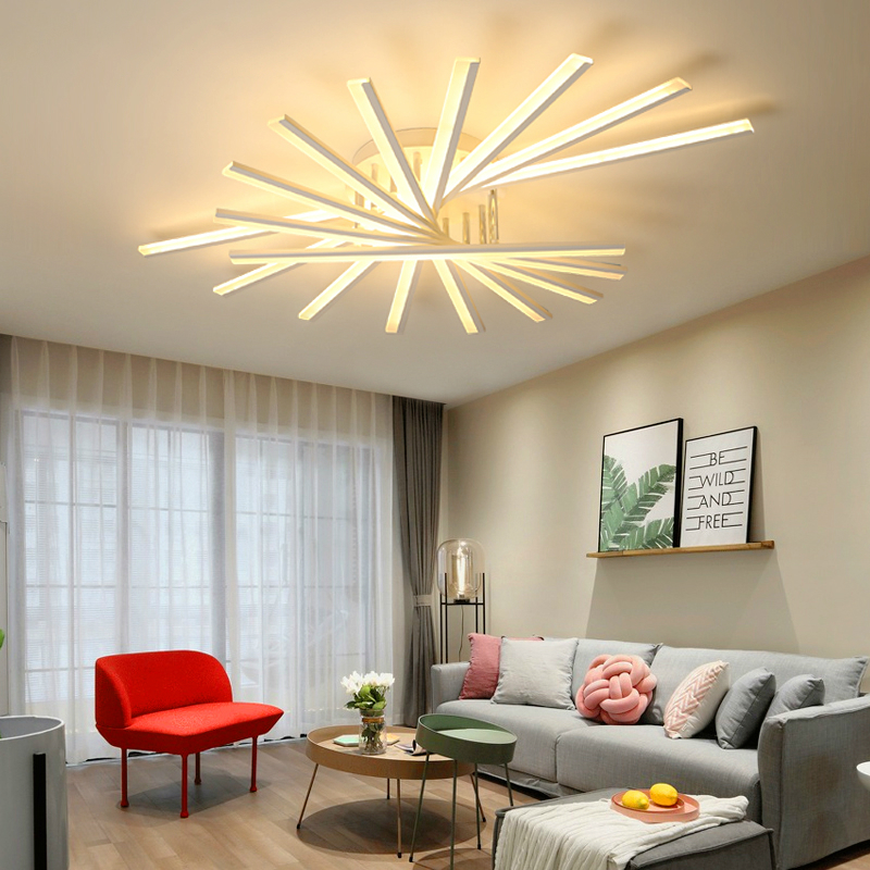 все цены на Modern living room Ceiling lights LED luminaire fixtures bedroom Ceiling lighting Nordic illumination home deco lamps онлайн