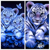 Daimond Diy Diamond Painting Animals Tiger 5d Square Mosaic Cross Stitch Kit Paint Full Dill Diamont