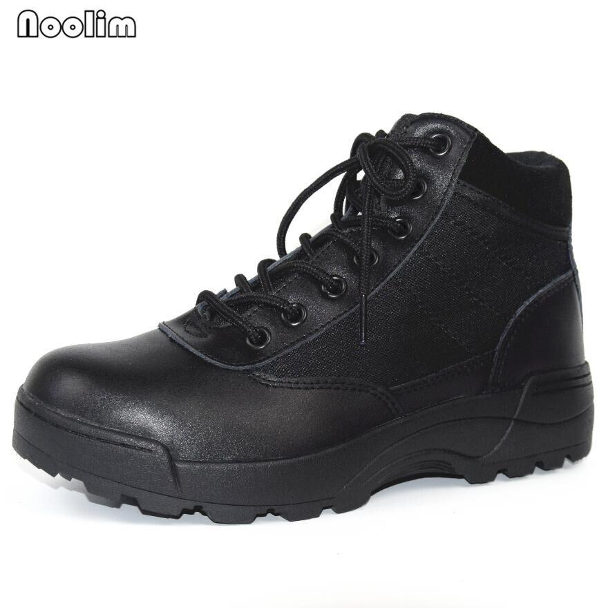 НОВЫЙ США Военная Униформа кожаные ботинки для мужчин Combat Bot пехота тактические ботинки аскери Bot армии боты армейские ботинки erkek ayakkabi