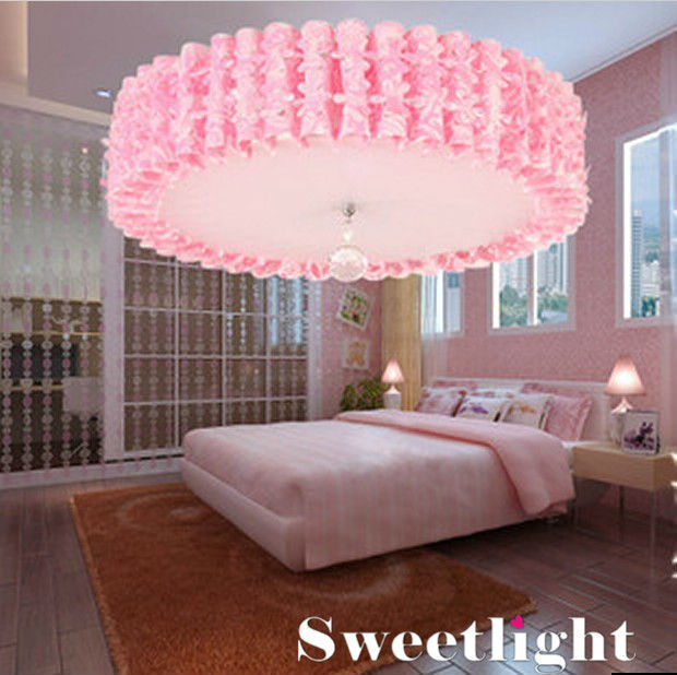 tienda online envo gratis tela moderna pink pvc sombra e lmpara de techo para nio habitacin dormitorio comedor sala de estar aliexpress mvil