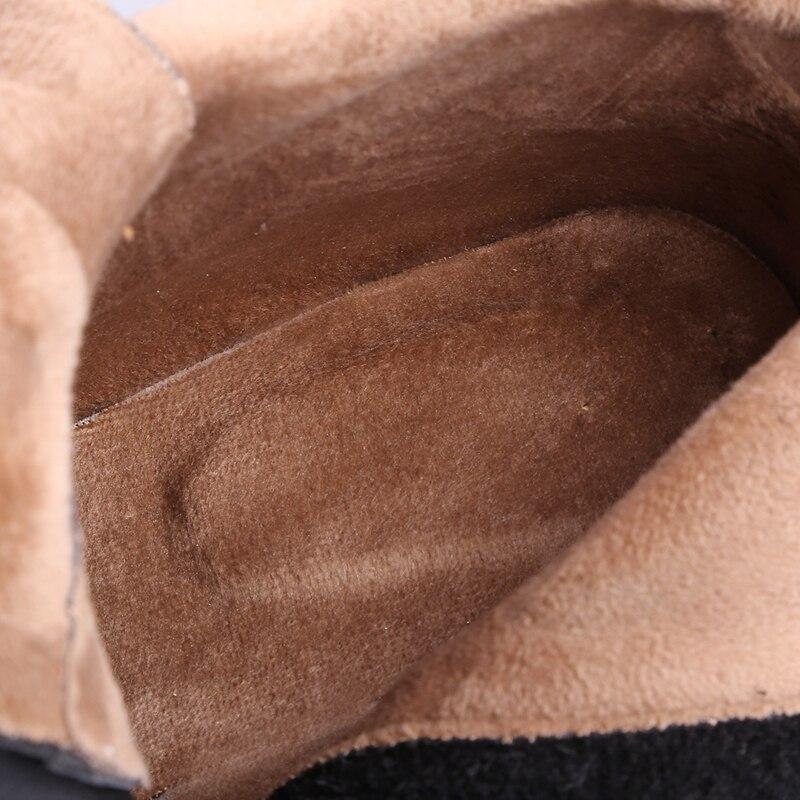 Hauts brown En Hiver Chaud Talons Chaussures A780 Bottes Plates Automne Chat Femme Cuir Reave Top Haute Black Longue formes Cales Femmes À Qualité Véritable wOlTPXikuZ