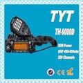 Dhl бесплатная доставка + TYT TH-9000D рация UHF 400 - 470 мГц мобильный трансивер 200 канала 60 Вт автомобильный радиоприемник TYT th-9000