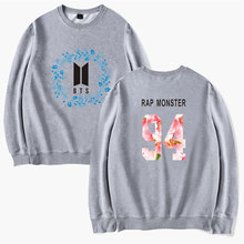 "BTS ""Floral"" Flower Sweater"