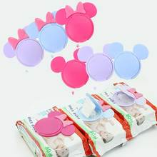 Baby Wipes Lid Baby Wet Wipes Cover Portable Child Wet Tissues Lid Cartoon Mobile Wipes Wet Paper lid Useful Accessories недорого