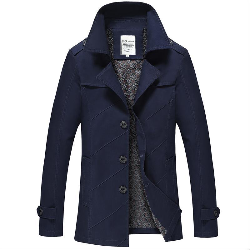 Casual khaki Blue orange Vestes Lavages Coton claret Outwear Black Veste Nouveau Style Hommes Pur De navy aqIIpH