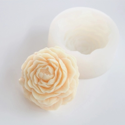 US $9 34 15% OFF|PRZY Big Peony Flower Silicone Mould Easy Release soap  mold aroma molds clay resin 2D silicone mold flexible moulds-in Clay  Extruders