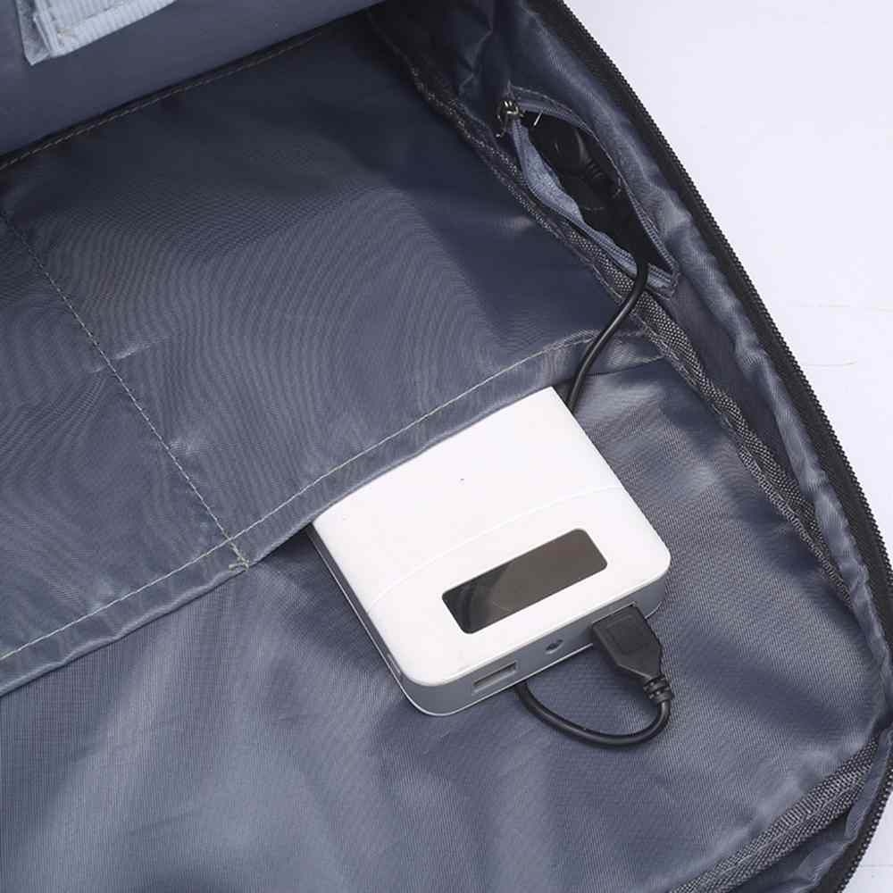 Laptop USB Ba Lô Tối Đa Ba Lô Laptop 17 Inch Áo Phụ Nữ Làm Việc Daypack Sạc Nhiều Lớp Du Lịch Mochila Trang Sức Giọt