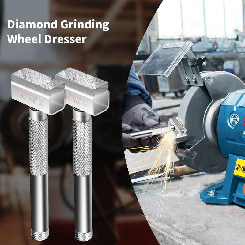 Купить с кэшбэком 1pc Diamond Grinding Wheel Dresser Thickening grinding layer Metal Grinder Stone Grinding Dressing Tool