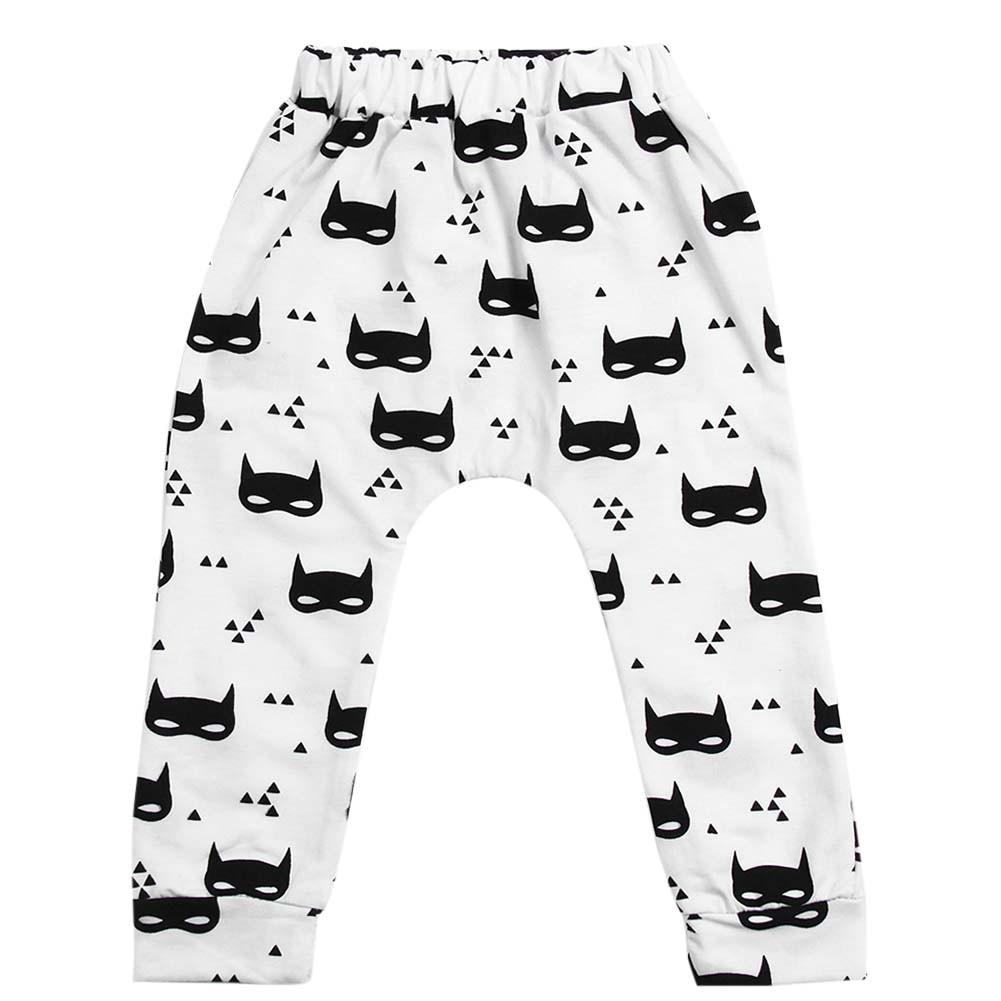 popcorn9 Baby Girls Boys Long Pants Cotton Cartoon Printed Pants Toddler Cloth Spring Summer Autumn Baby Pants