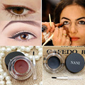 Brand Delineador Long Lasting Waterproof Eyeliner Gel Beauty Brown Black Eyes Makeup Eyebrow Eye Liner Tint Gel lapis de olho