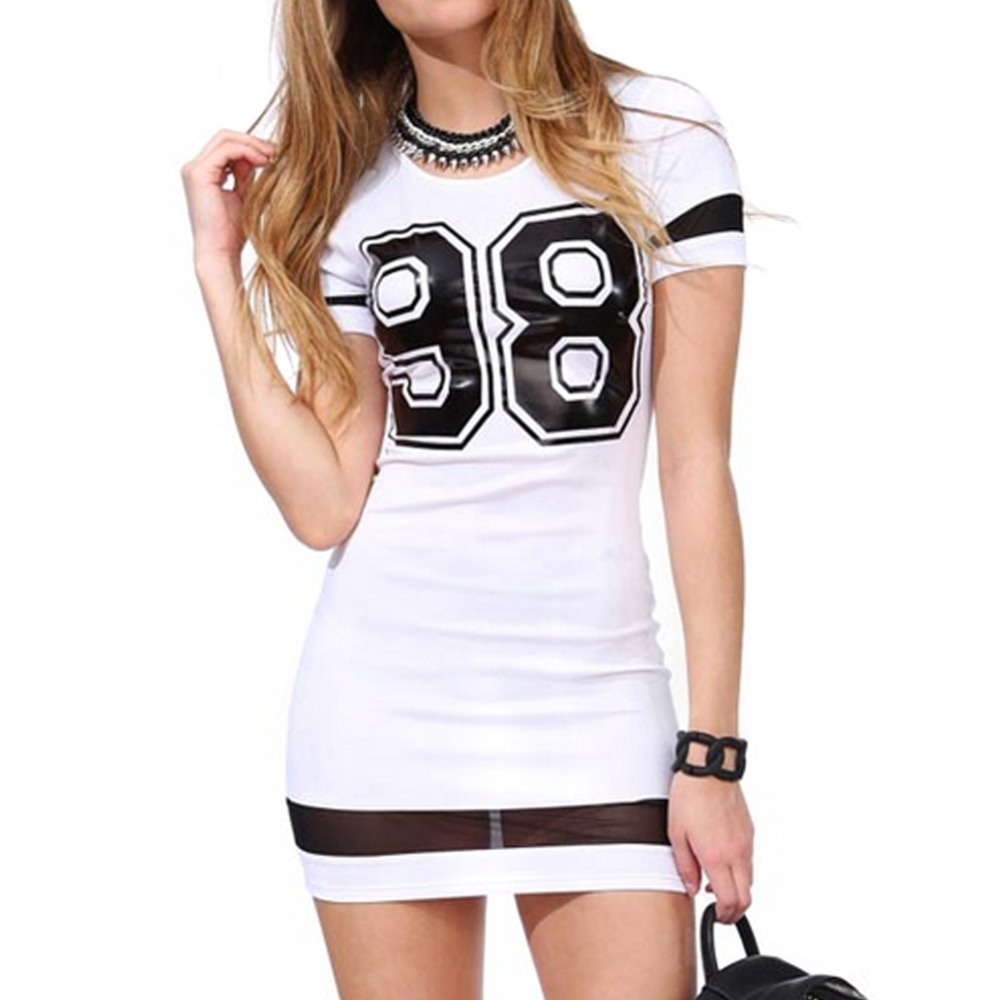 Women Summer Dress Casual Short Sleeve