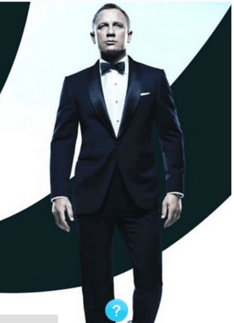 Free shipping terno Notch Lapel Groom Tuxedos Groomsmen blue Men Wedding  Suits 2018 Bridegroom tuxedos best man bridegroom suit d7586ffad33e