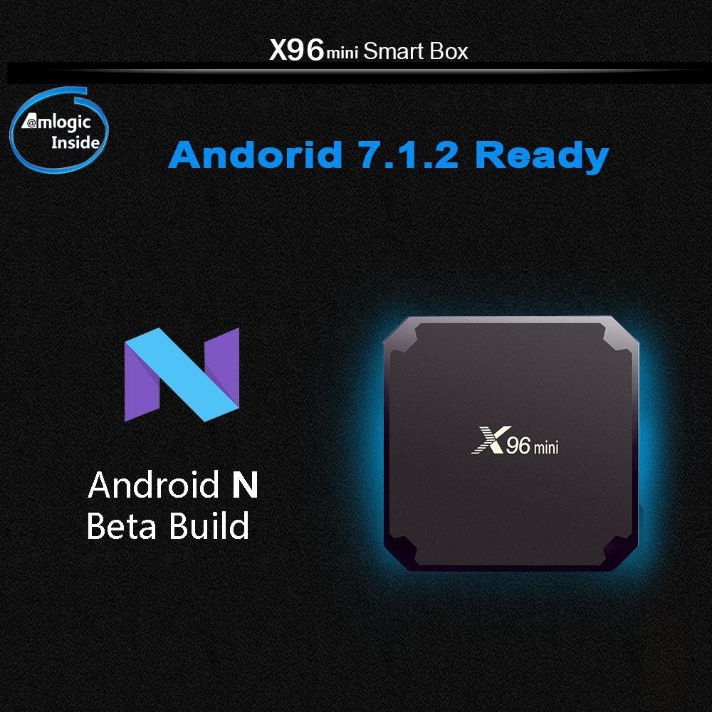 A95x x96 mini tv box 2gb 16gb amlogic s905w smart android tv box 7.1 2.4g wireless wifi 4k hd x96mini media player set top box