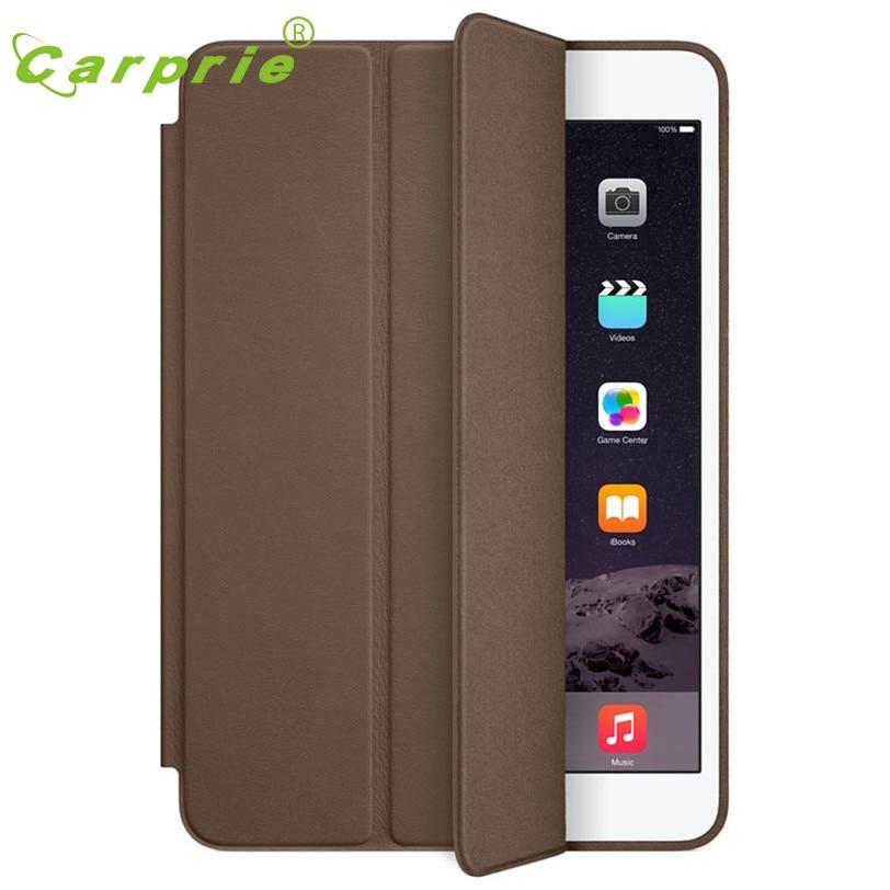 CARPRIE MotherLander For iPad mini 1 2 3 Retina Smart Case Slim Stand Leather Cover Dark Brown Feb9  цены