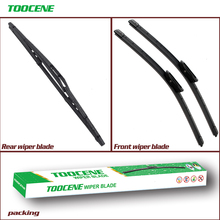 Front And Rear Wiper Blades For Peugeot Bipper 2008-2016 Windshield Wiper Auto Car Styling 26+19+14