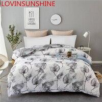 LOVINSUNSHINE Quilt Cover Queen King Duvet Cover Set Leaf Bedding Set KL01#