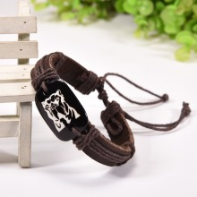 Newest Fashion Jewelry Pitbull Dog Bracelets Dog Lovers Pet Memorial Bracelet Pit Bull Dog Leather Bracelets Wholesale