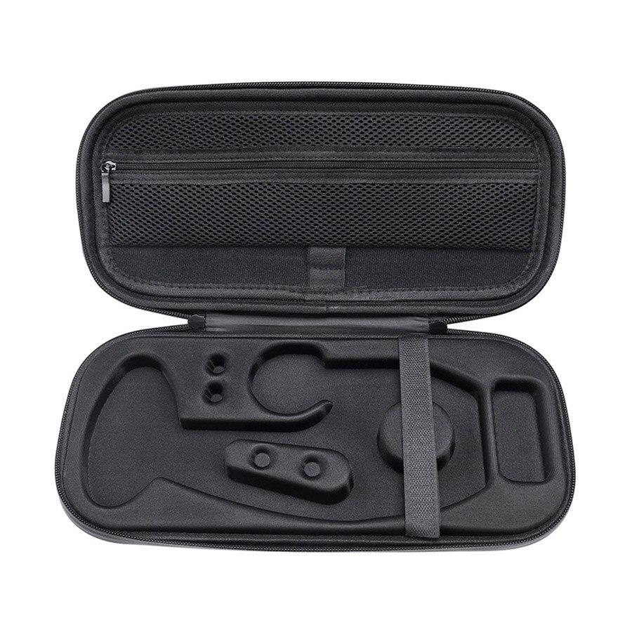 Новейший жесткий чехол для переноски EVA для стетоскопа 3M Littmann Classic III/MDF/ADC/Omron. Сетчатый карман для аксессуаров - Цвет: Черный