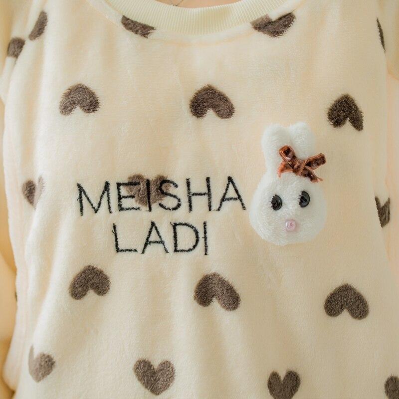 e16fb4d2a Nueva buena calidad invierno ropa de maternidad embarazadas pijamas de  franela conjunto ropa de dormir de coral polar pijamas de maternidad  nightwear plus ...