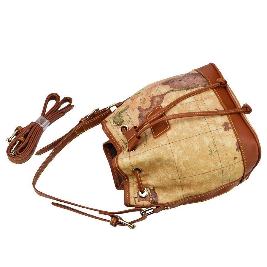 25842ccd4e0b3 Wysoka jakość mapa świata kobiety torba kobiety moda messenger torby  Specjalne wiadro torba Na Co Dzień Torebka w Wysoka jakość mapa świata  kobiety torba ...