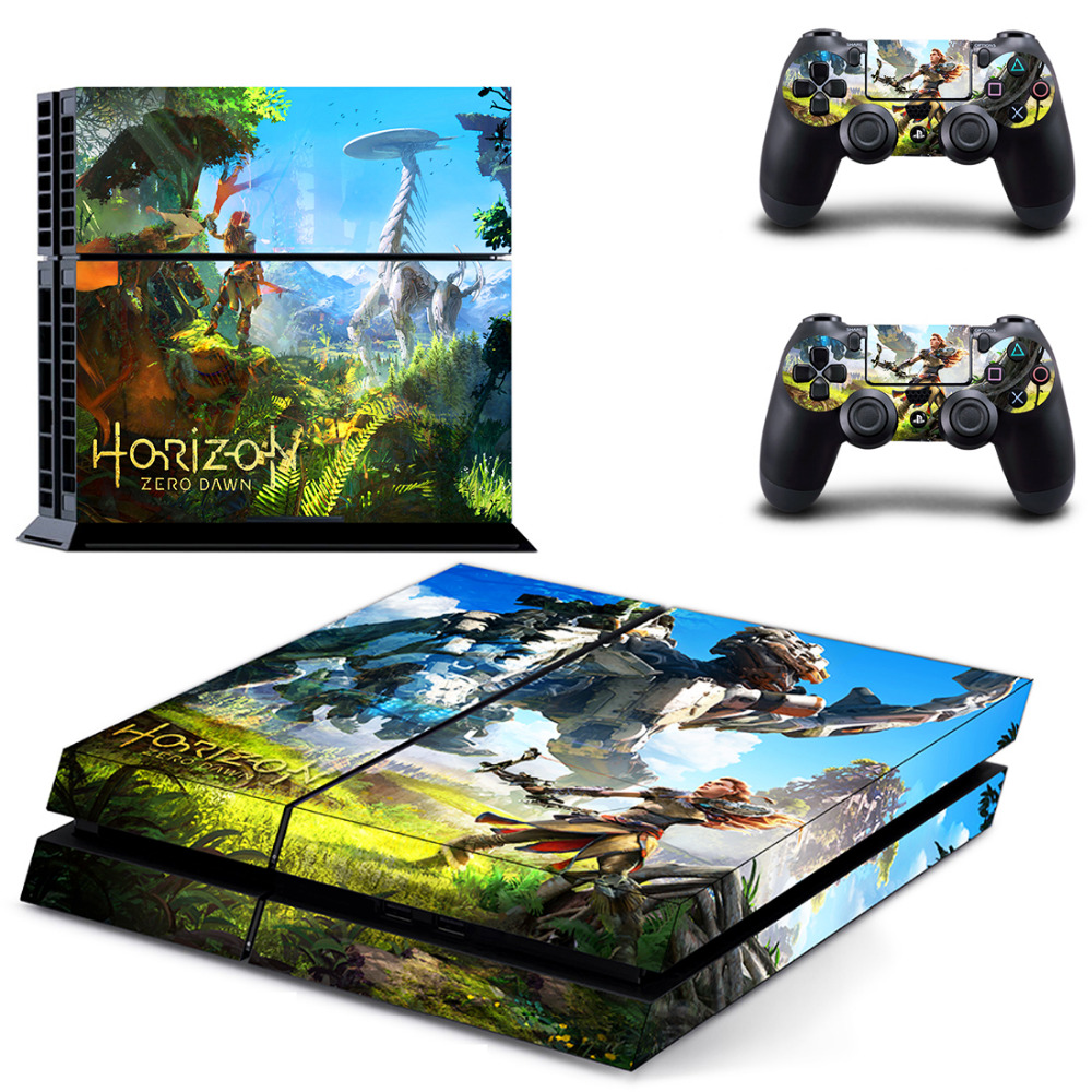 60PCS PS4 Skin Sticker Decal For Sony PS4 PlayStation 4 Console and 2 Controllers Stickers z33 light design protector skin decal sticker for ps3 playstation 3 body console
