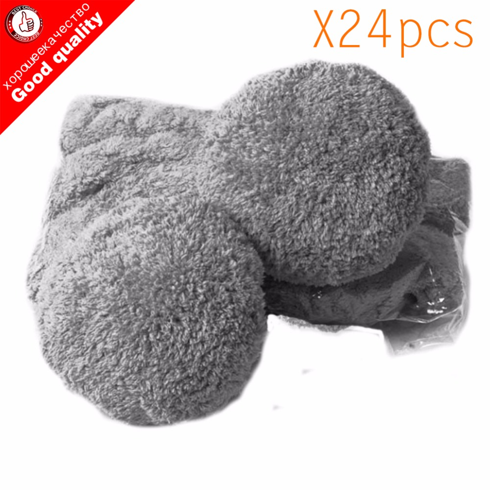 24pcs/lot High Quality Robot Vacuum Cleaner Wet Mop For Hobot 168 188  Window Clean Mop Cloth Weeper Vacuum Cleaner Parts