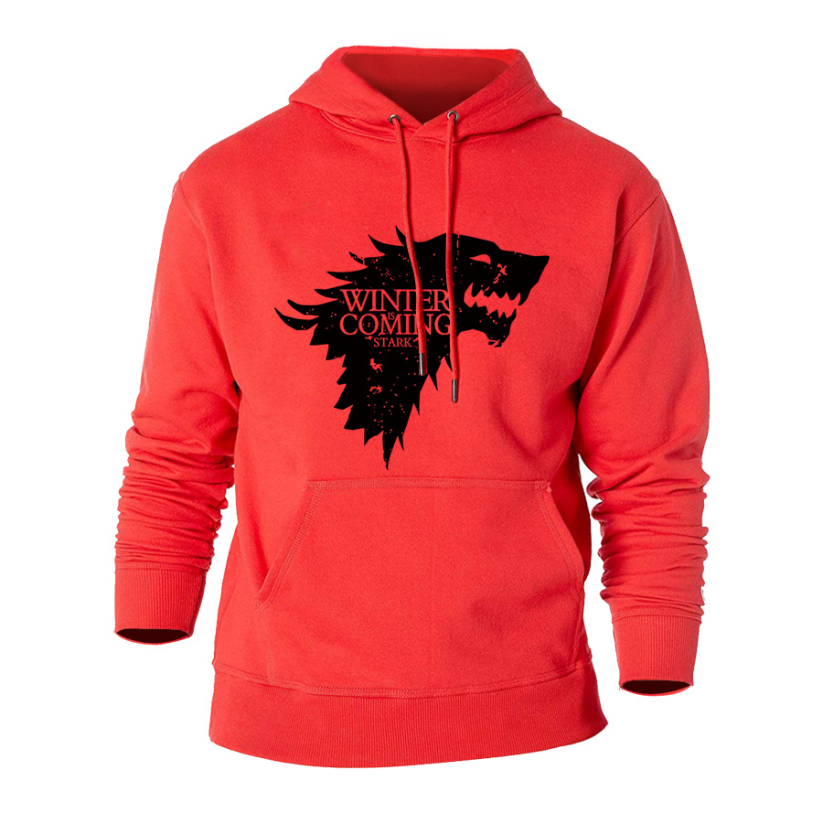 2019 New Game Of Thrones Direwolf Men Hoodies And Sweatshirts Winter Is Coming Cotton Hooded Top Quality Plus Size M XXXL Bts in Hoodies amp Sweatshirts from Men 39 s Clothing