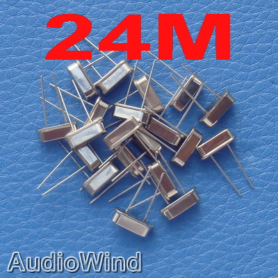 ( 200 pcs/lot ) <font><b>24MHz</b></font> 24 MHz Quartz Crystal Resonator , RoHS. image