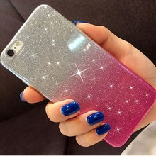 Gradient Glitter Soft Case for Samsung galaxy J4 J6 J8 2018 J2 Pro J7 Neo NXT Prime 2 J5 Pro J3 2017 J330 Cute Women TPU Cover(China)