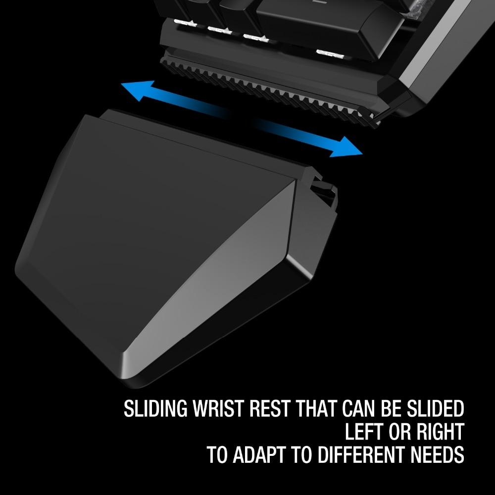 GameSir GK100 Mini Mécanique Bleu Commutateurs PC clavier de jeu pour FPS Jeux, D'une Seule main Clavier avec lumière led - 5