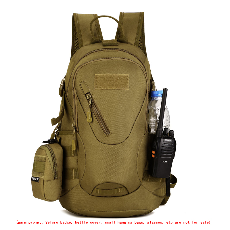 20L Outdoor Hiking Camping Hunting Molle 3P Military Tactical Backpack  3