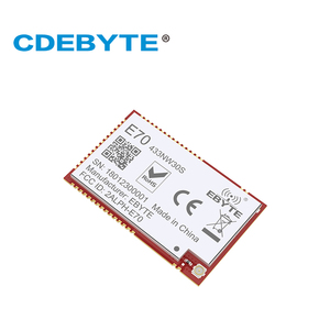 Image 2 - E70 433NW30S CC1310 433 mhz 1W yıldız ağ IPEX anten uhf kablosuz alıcı verici alıcı CC1310 433 mhz modülü