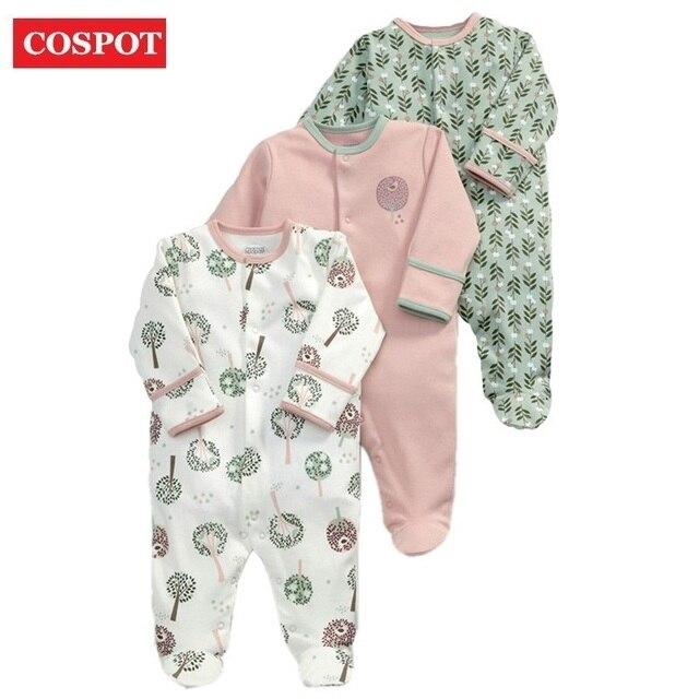 3a8c4e1b218b COSPOT Rush Sale Newborn Footed Jumpsuit Kids Winter Autumn Pajamas ...