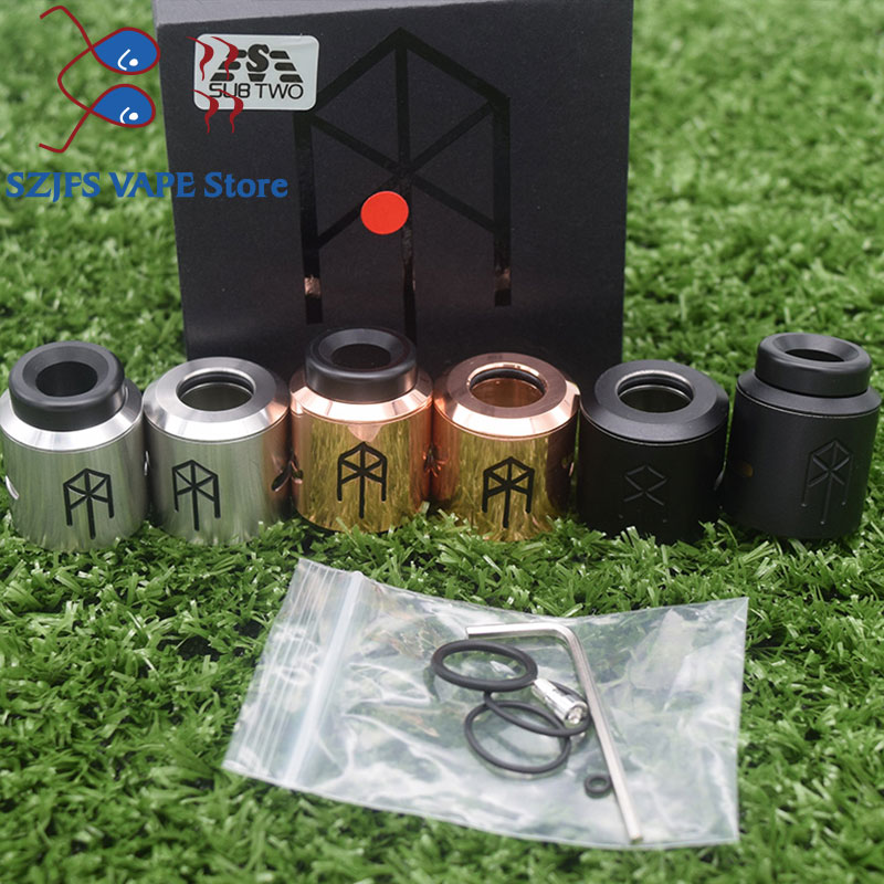 2019 Newest Terk V2 Rda Terkv2 24mm 25mm Copper Stainless Steel Rebuildable Atomizer Vape VS Goon Rda Apocalypse Rda