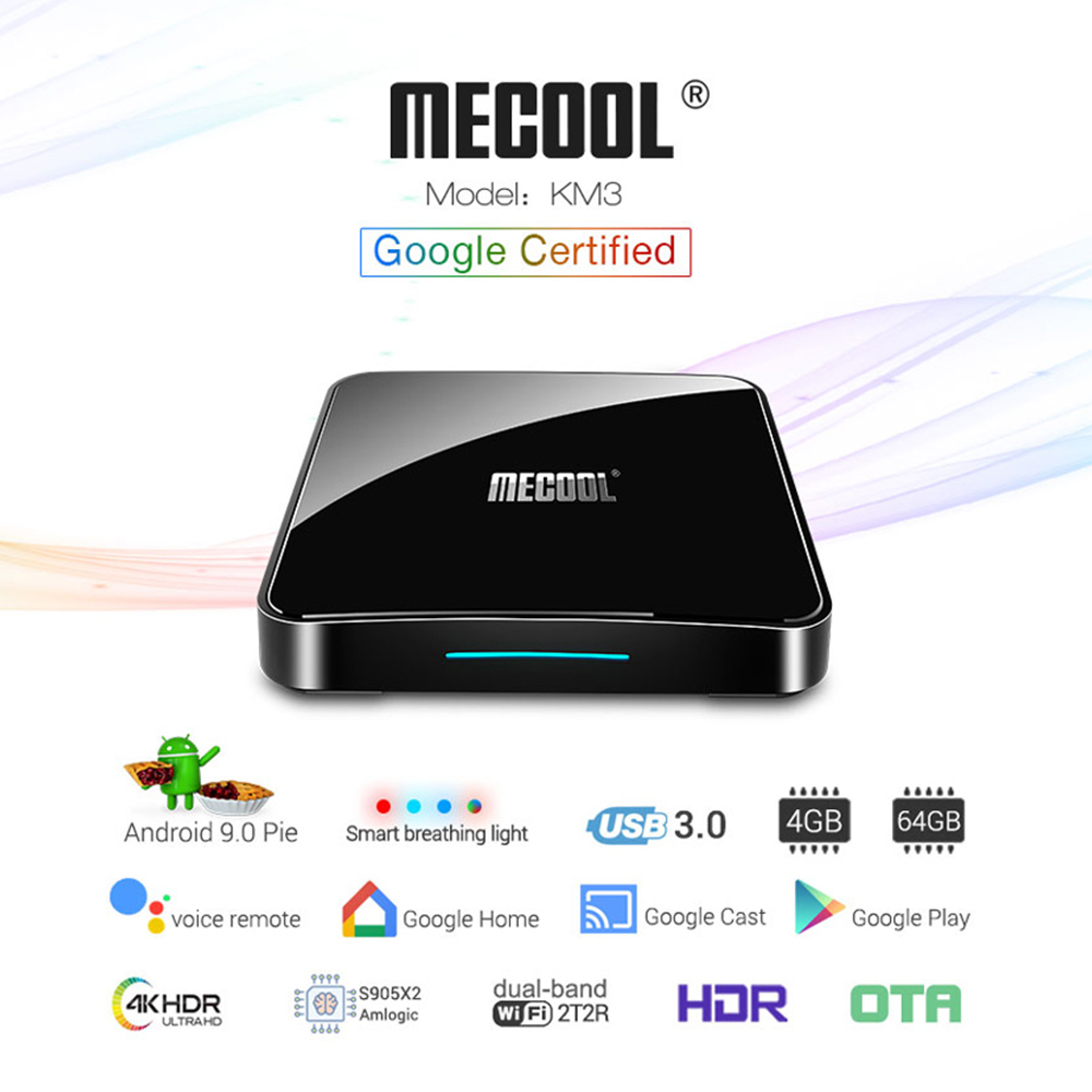 Image 3 - IPTV France Arabic KM3 ATV Box Google Certified IP TV 1 year QHDTV IPTV Belgium Germany Netherlands IPTV French IP TV Morocco-in Set-top Boxes from Consumer Electronics