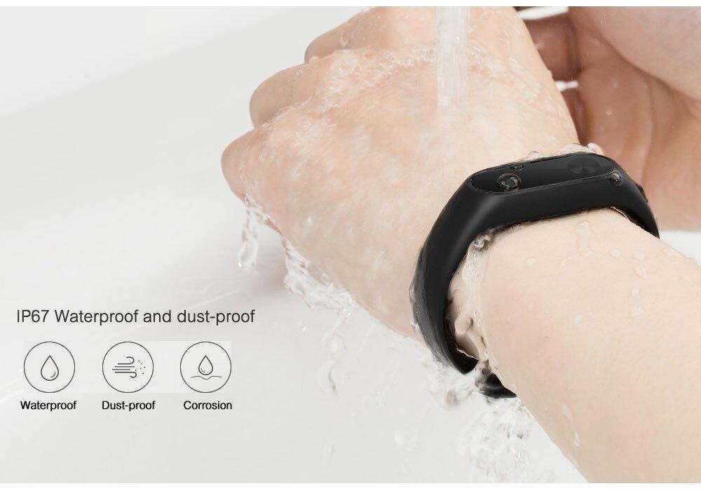 Xiaomi Mi Band 2 Smart Bracelet Wristband Miband 2 Fitness Tracker Android Bracelet Smartband Heart rate Monitor 1 (6)