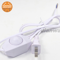 Dimmer Open Wires Cable Switch Line Table Lamp Light Modulator Dimmer Switch Dimming Cable For Desk