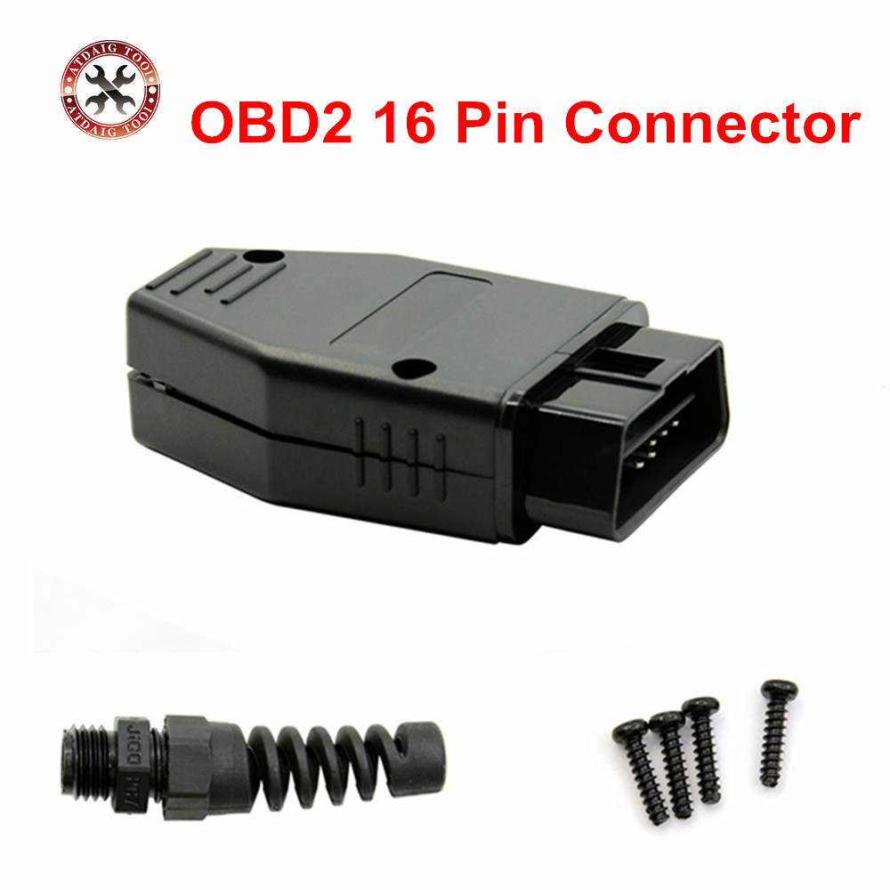 2019 Newst Obd Male Plug Obd2 16pin Connector Obdii Adaptor Obdii Connector J1962 Obd2 Connector In Stock Free Shipping